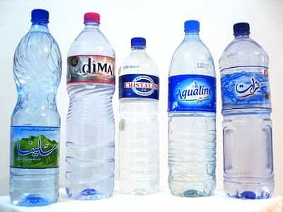 Tunisian mineral water